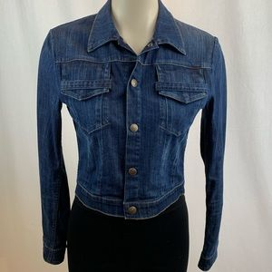 Citizens of Humanity Cropped Jean Jacket XS